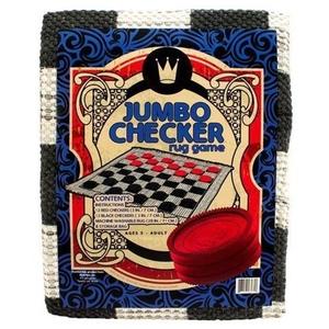 Jumbo Checker Rug